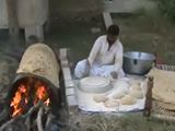 How to make a giant chapati !!