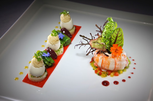 Michelin star food and the art of food plating the chef for Art of food decoration