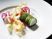 Monkfish, carrots, chamomile and dill, Kokkeriet