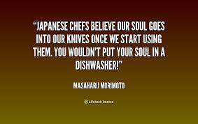 soul in your knives.