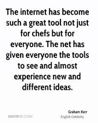 internet for chefs