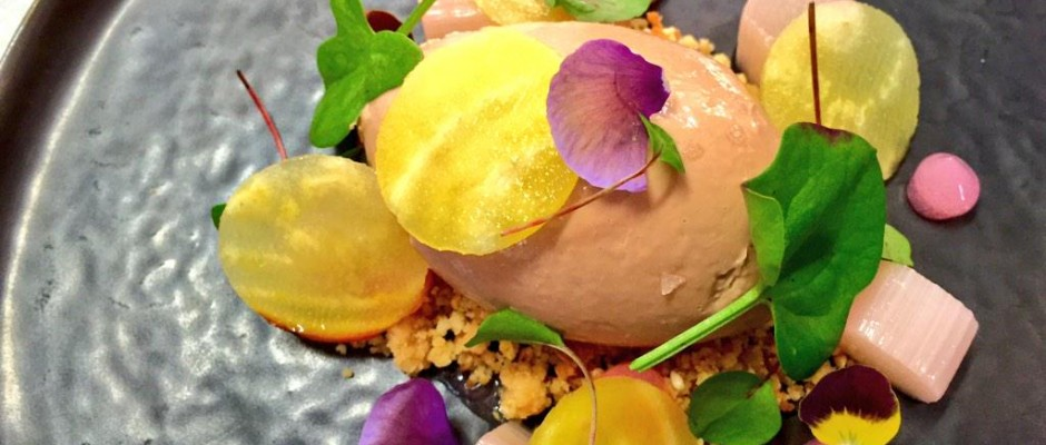 Chef Selection ‏@Chef_Selection, MT @davies_chef: Chicken liver parfait - Yorkshire rhubarb