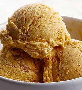 Apple Butterscotch Ice Cream
