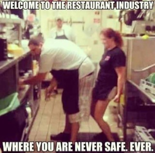 Welcome to the restaurant industry!