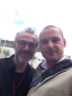 Massimo Bottura & Lee from The Chef House