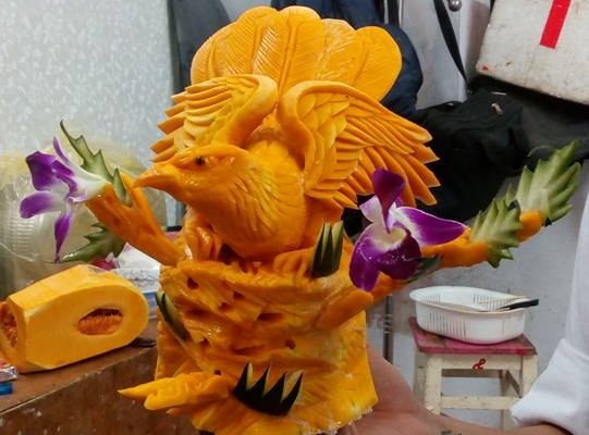 Veg carving by Hung Xuan